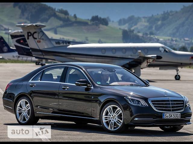 Mercedes-Benz S-Class S 400d AT (340 л.с.) Long