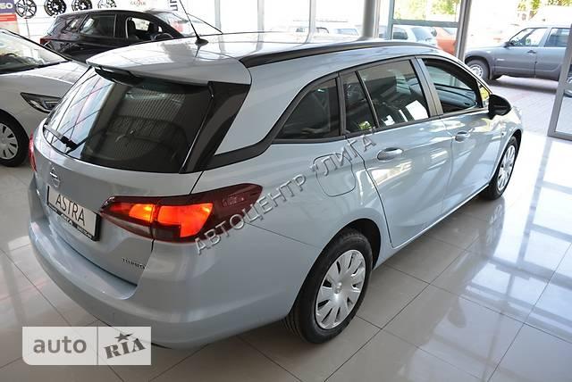 Opel Astra K 1.4 AT (150 л.с.) Start/Stop Enjoy