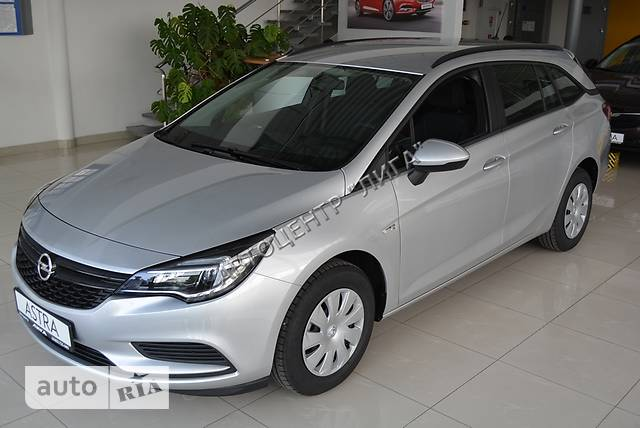 Opel Astra K 1.6D MT (110 л.с.) Start/Stop Selection