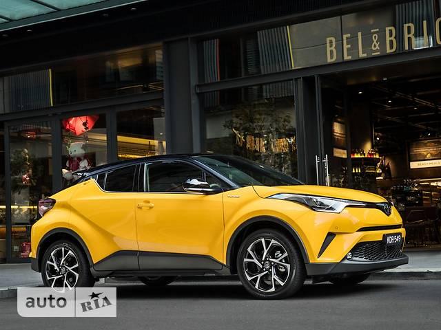 Toyota C-HR 1.2 CVT (116 л.с.) Premium
