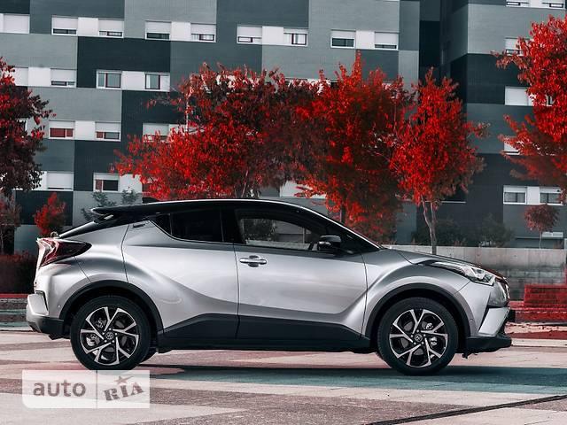 Toyota C-HR 1.2 CVT (116 л.с.) AWD Premium