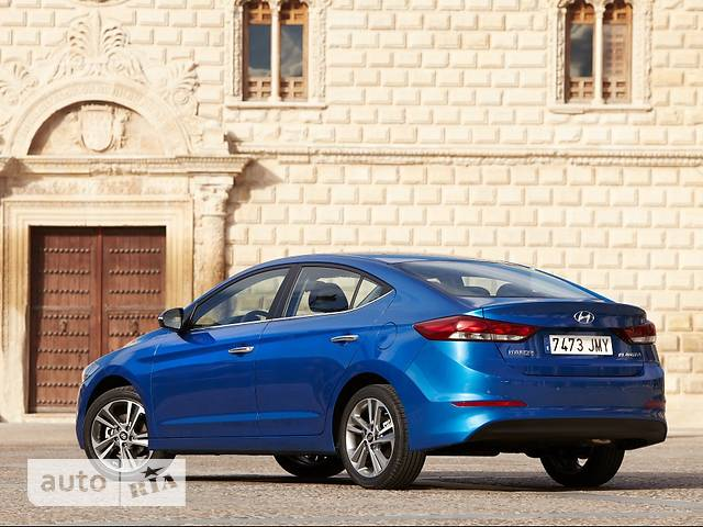 Hyundai Elantra AD 2.0 АT (154 л.с.) Premium