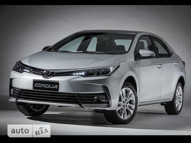 Toyota Corolla New 1.6 CVT (132 л.с.) Live