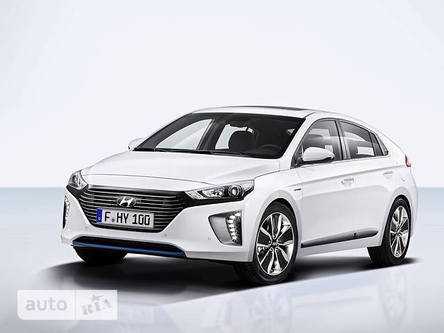 Hyundai Ioniq 1.6 DCT (105 л.с.) Hybrid Top sunroof