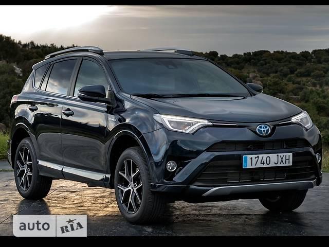 Toyota Rav 4 2.5 E-CVT Hybrid (197 л.с.) E-AWD Dynamic