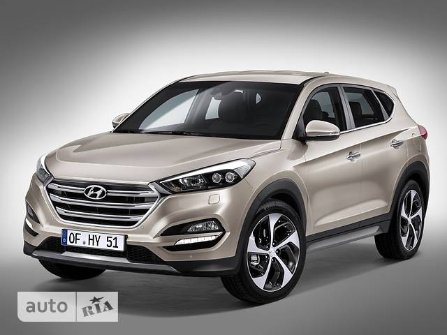 Hyundai Tucson 2.0 CRDi AT (184 л.с.) 4WD Express