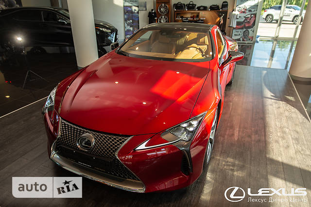 Lexus LC 500 AT (477 л.с.) Luxury