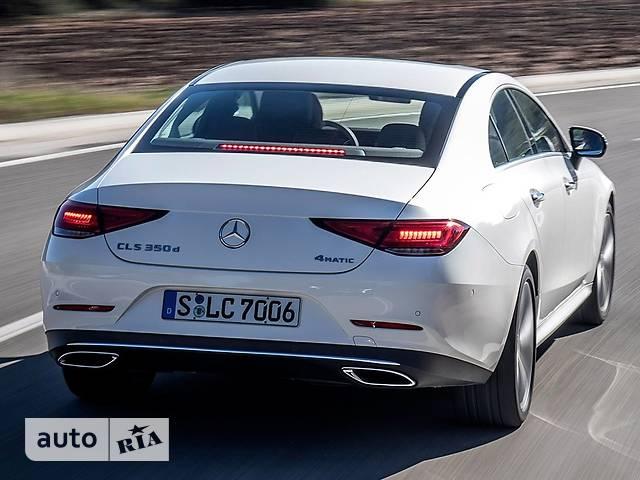 Mercedes-Benz CLS-Class 350d G-Tronic (286 л.с.)