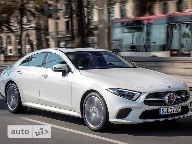 Mercedes-Benz CLS-Class 300d G-Tronic (245 л.с.)