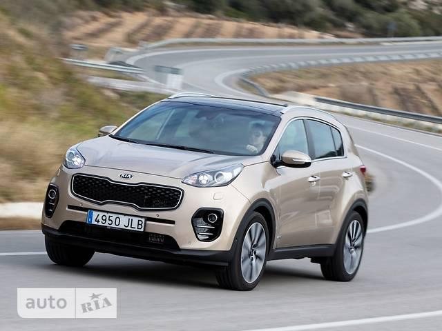 Kia Sportage 2.0D AT (185 л.с.) 4WD Business