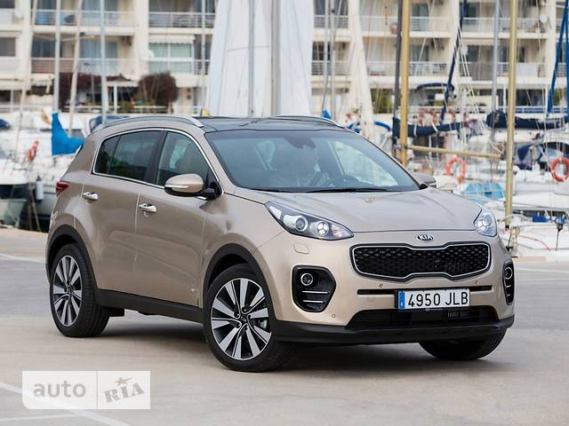 Kia Sportage 2.0 AT (155 л.с.) 4WD Business