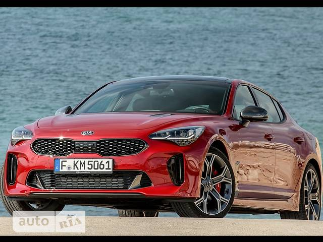 Kia Stinger 3.3 AT (370 л.с.) AWD GT