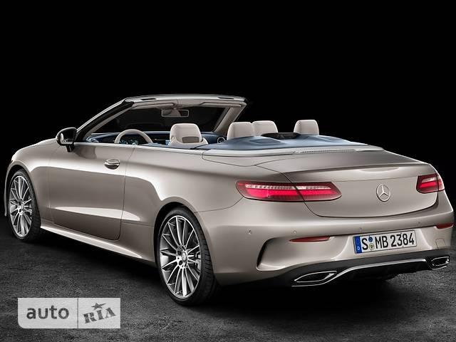 Mercedes-Benz E-Class New E 200 АТ (184 л.с.) 4Matic