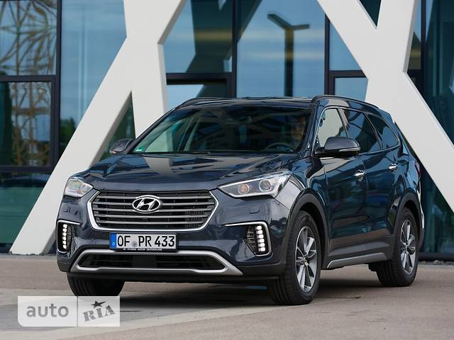 Hyundai Grand Santa Fe FL 2.2D AT (197 л.с.) 4WD VIP