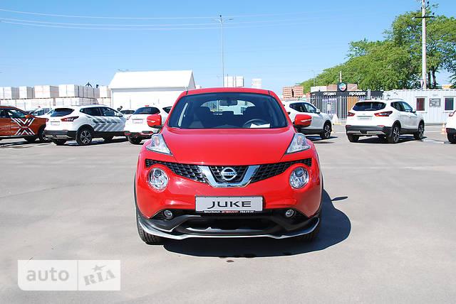 Nissan Juke FL 1.6 CVT (117 л.с.) SE+