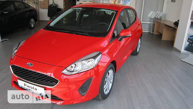 Ford Fiesta 1.0 Ecoboost MT (100 л.с.) Comfort