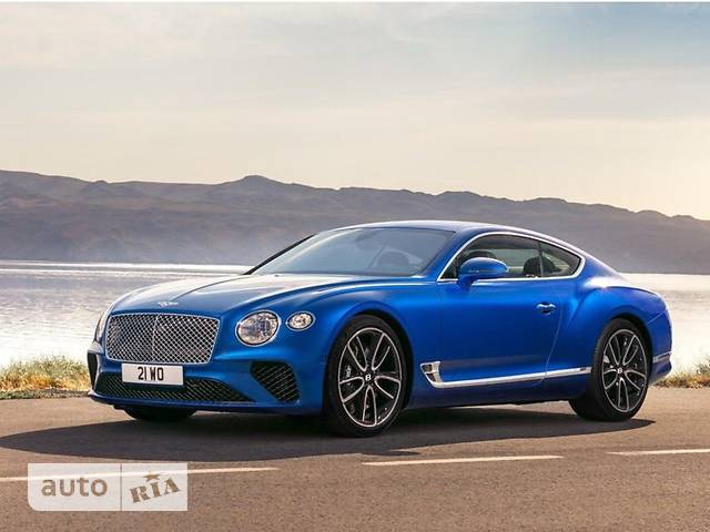 Bentley Continental GT 6.0 TSI (605 л.с.) AT base