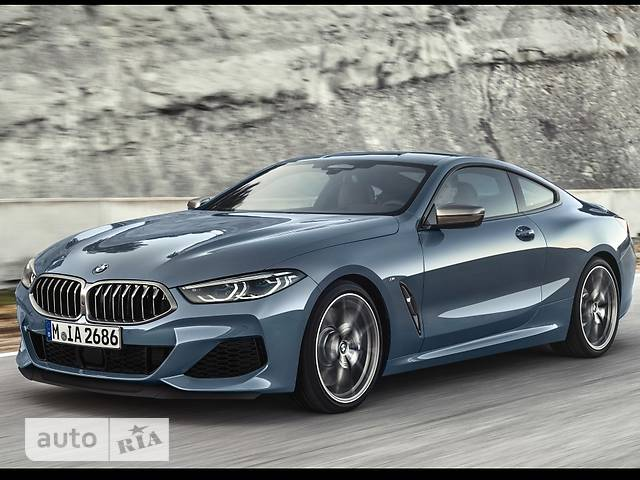 BMW 8 Series 840d Steptronic (320 л.с.) xDrive base