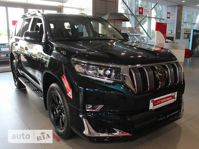 Toyota Land Cruiser Prado FL 2.8 D-4D AT (177 л.с.) 4WD Prestige