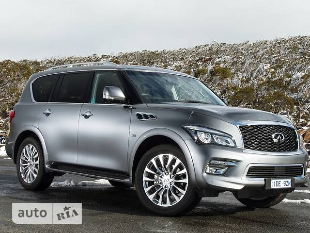 Infiniti QX80 5.6L AT (405 л.с.) (8s) Luxe ProActive