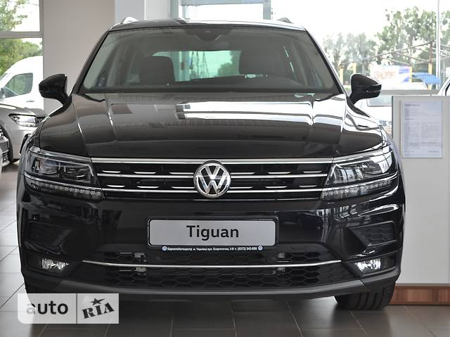 Volkswagen Tiguan New 2.0 TSI АT (220 л.с.) 4Мotion Highline