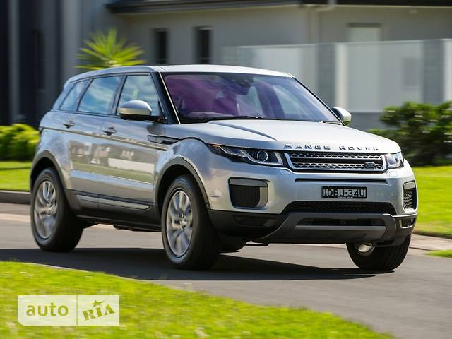 Land Rover Range Rover Evoque 2.0D AT (180 л.с.) AWD SE Dynamic