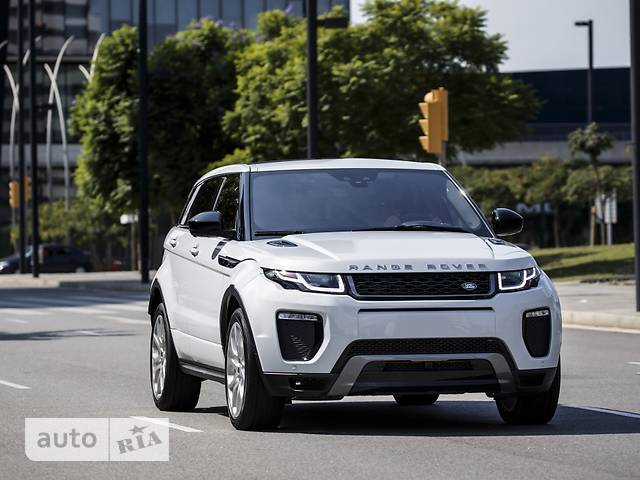 Land Rover Range Rover Evoque 2.0D AT (180 л.с.) AWD HSE