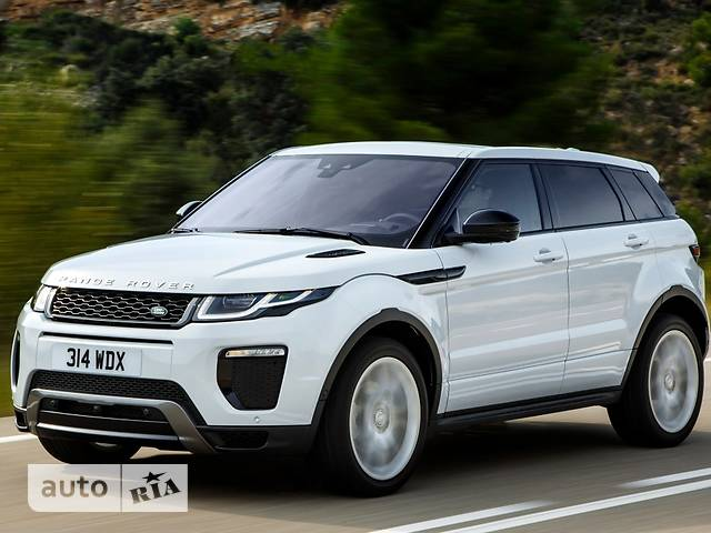 Land Rover Range Rover Evoque 2.0D AT (240 л.с.) AWD Autobiography