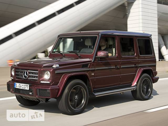 Mercedes-Benz G-Class G 500 AT (421 л.с.) base