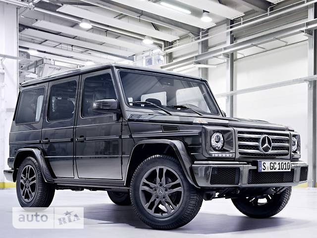 Mercedes-Benz G-Class G 350d AT (245 л.с.) base
