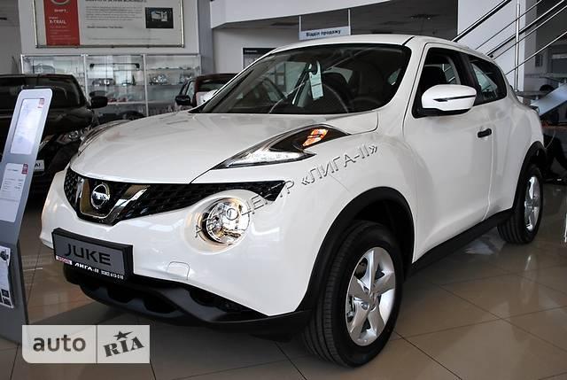 Nissan Juke FL 1.6 CVT (117 л.с.) Visia