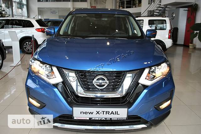 Nissan X-Trail New FL 2.0 CVT (144 л.с.) 4WD Acenta