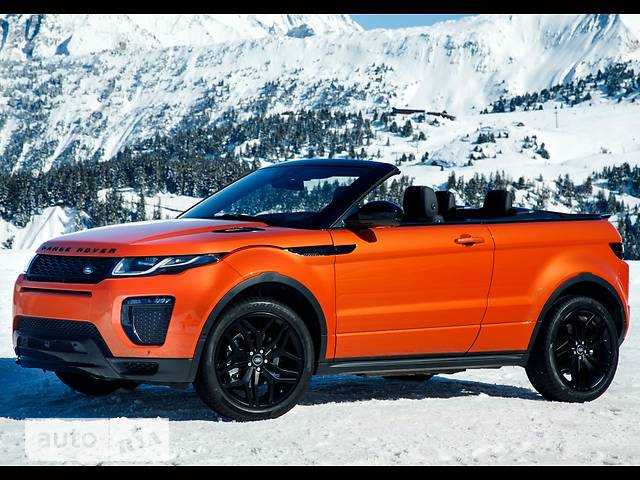 Land Rover Range Rover Evoque Cabrio 2.0 Si4 AT (240 л.с.) HSE Dynamic