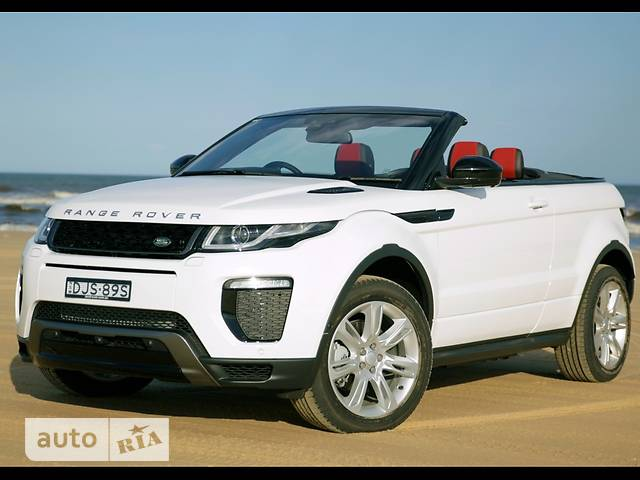 Land Rover Range Rover Evoque Cabrio 2.0 Si4 AT (240 л.с.) SE Dynamic