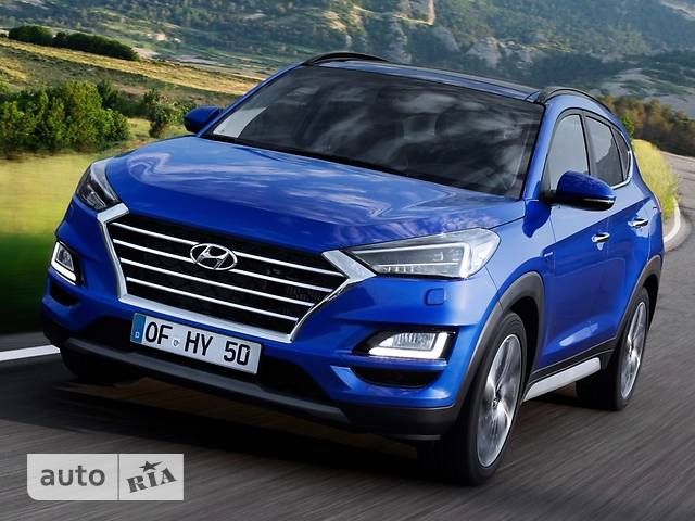 Hyundai Tucson 2.0 CRDi AT (185 л.с.) 4WD Top