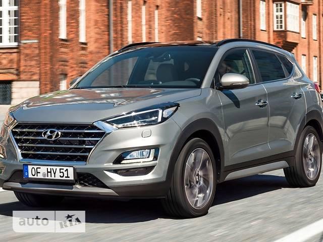 Hyundai Tucson 2.0 CRDi AT (186 л.с.) 4WD Elegance