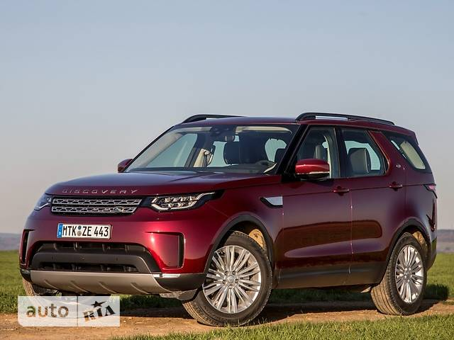 Land Rover Discovery 5 3.0TD AT (258 л.с.) 4WD S