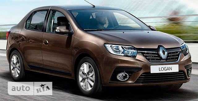 Renault Logan New 0.9 MT (90 л.с.) Life+