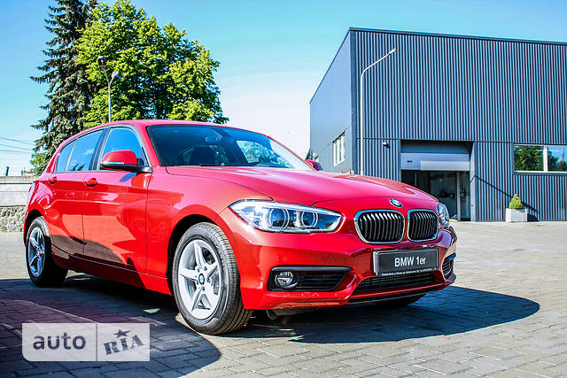 BMW 1 Series F20 118i AT (136 л.с.)