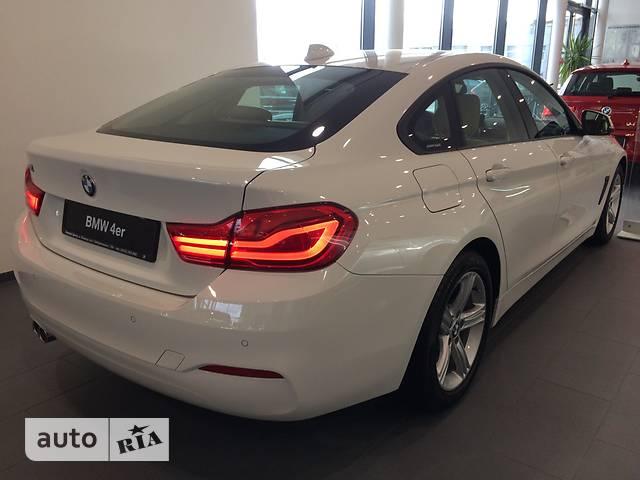 BMW 4 Series Gran Coupe F36 420i MT (184 л.с.)