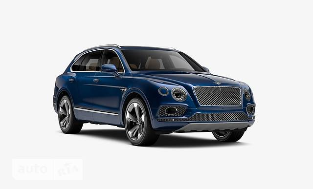 Bentley Bentayga 4.0 AT (550 л.с.)