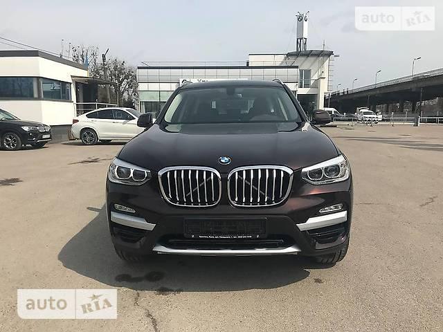 BMW X3 G01 20d AT (190 л.с.) xDrive