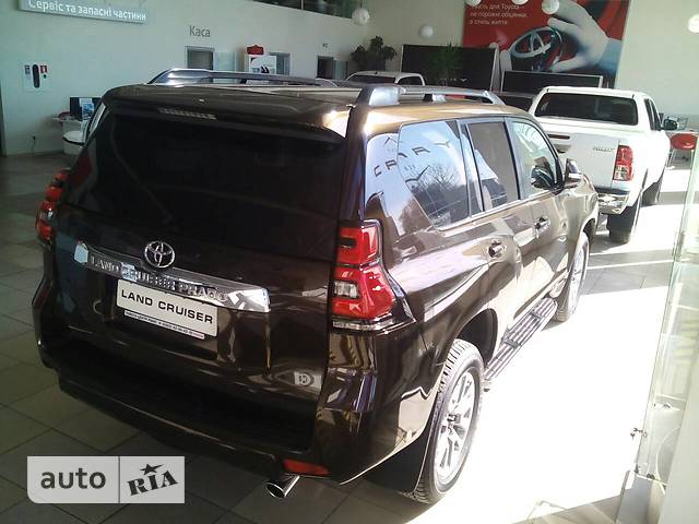 Toyota Land Cruiser Prado FL 2.8 D-4D AT (177 л.с.) 4WD Prestige