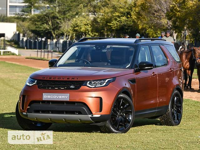 Land Rover Discovery 5 3.0TD AT (258 л.с.) 4WD First Edition