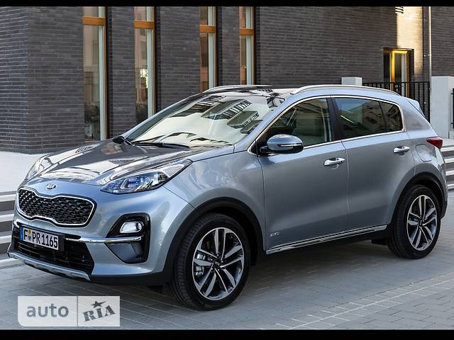Kia Sportage 1.6 CRDi DCT (136 л.с.) 4WD Business