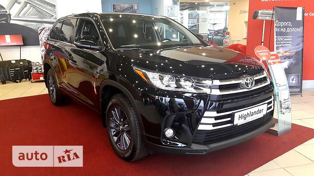 Toyota Highlander New 3.5 АТ (249 л.с.) 4WD 7s Prestige