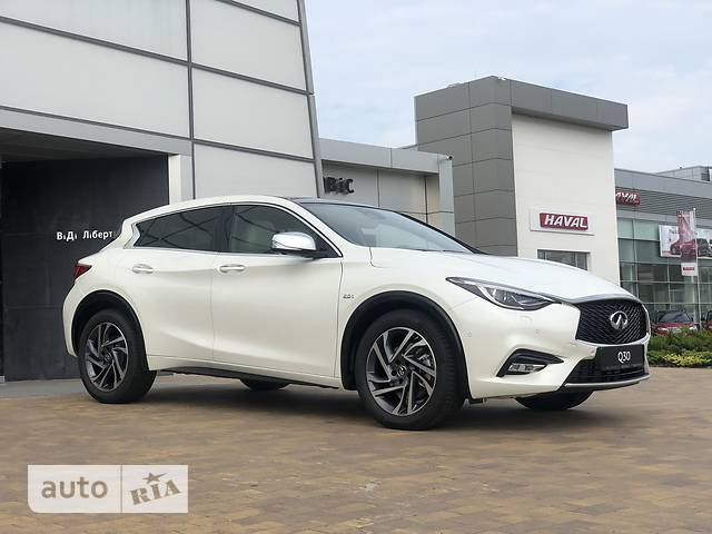 Infiniti Q30 2.0 AT (211л.с.) AWD Special Edition GT Premium Gallery White SV