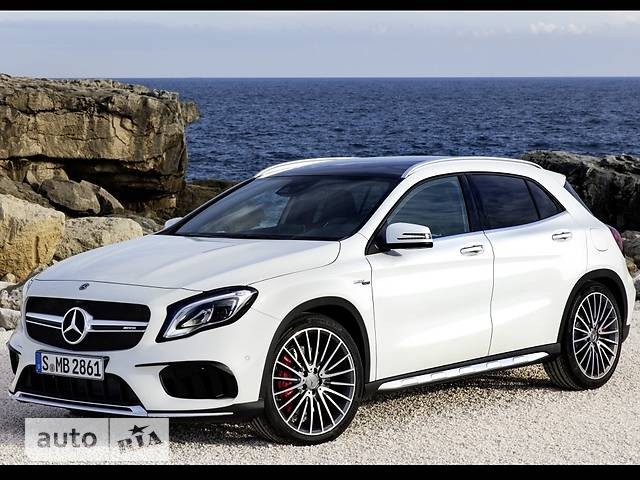 Mercedes-Benz GLA-Class Mercedes-AMG GLA 45 AT (381 л.с.) 4Matic