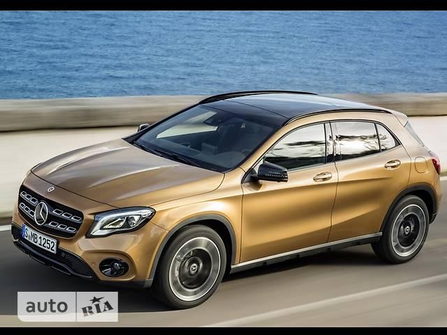 Mercedes-Benz GLA-Class GLA 220d AT (177 л.с.)