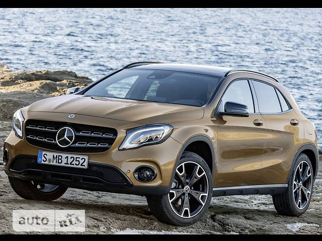 Mercedes-Benz GLA-Class GLA 220d AT (177 л.с.)